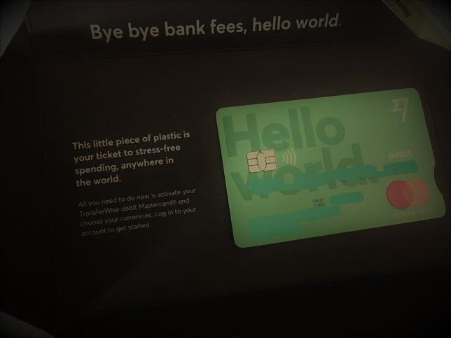 A Transferwise debit kártya | Zsugorich